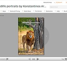 Wildlife note book from BLURB by Konstantinos Arvanitopoulos