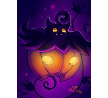 Pumpkaboo Photographic Print
