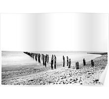 Dilapidated Pier Poster