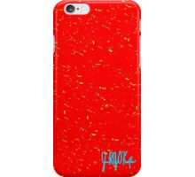 Fall Winter 2015: Blue, Red, Yellow Print iPhone Case/Skin