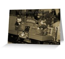 Christmas Blessings -  Santa's Elves Greeting Card