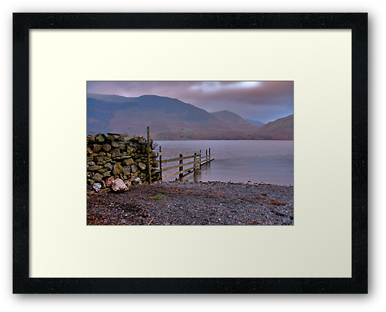 The Fence - Buttermere by Trevor Kersley