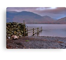 The Fence - Buttermere Canvas Print