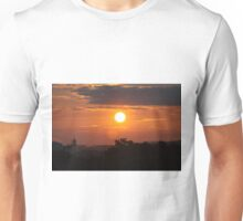 Sunset Over Atlanta Airport Unisex T-Shirt