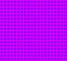 Squares - Blue + Pink Border by cmmei