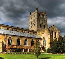 Tewkesbury Abbey by Rebsie Fairholm