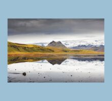Views from the Causeway to Dyrholeay, Iceland Baby Tee