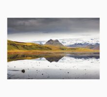 Views from the Causeway to Dyrholeay, Iceland Kids Tee