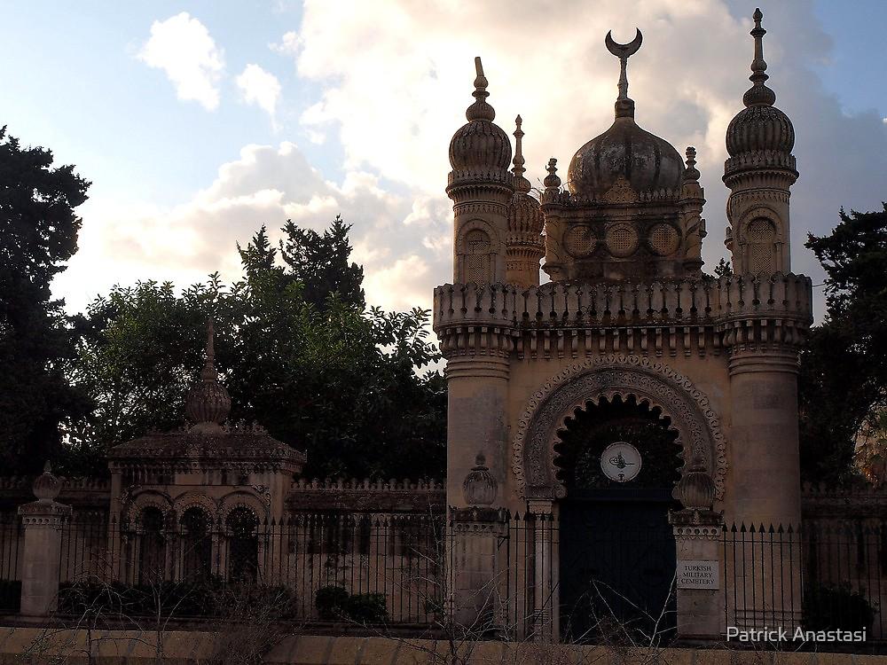 Turkish Military Cemetery - Marsa Malta by Patrick Anastasi