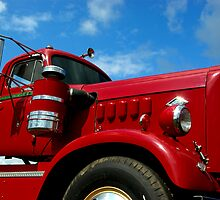 1950 Diamond T Semi Truck by TeeMack
