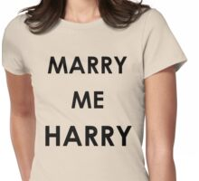 Marry Me Harry Womens Fitted T-Shirt