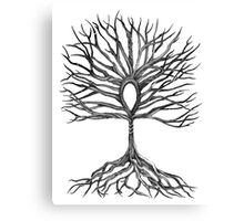 Ankh Tree of Life Canvas Print