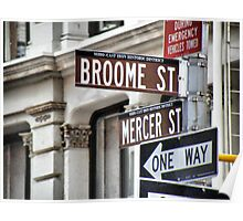 Broome and Mercer Poster