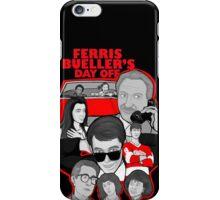 Ferris Bueller collage art iPhone Case/Skin