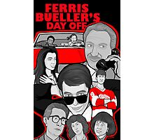Ferris Bueller collage art Photographic Print