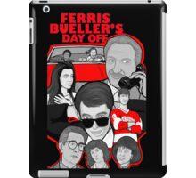 Ferris Bueller collage art iPad Case/Skin