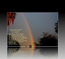 PLEASE VIEW LARGER, RAINBOW TO YOU!!! THIS MORNING by Sherri     Nicholas
