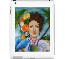 Caribbean girl iPad Case/Skin