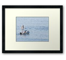 Can you see me - I'm pretty - Puedes verme - soy guapa Framed Print