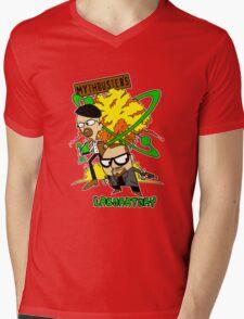 Mythbuster's Lab Mens V-Neck T-Shirt