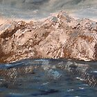 Winter lake by Nicla Rossini