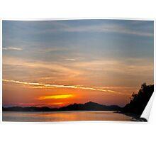 Sunset - Marlo Poster