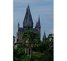 Harry Potter Castle Photographic Print