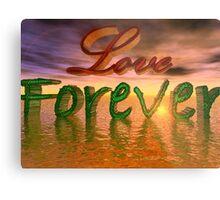 Love Forever Metal Print