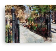 Abingdon Square Park Greenwich Village Canvas Print