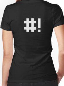 #! Women's Fitted V-Neck T-Shirt