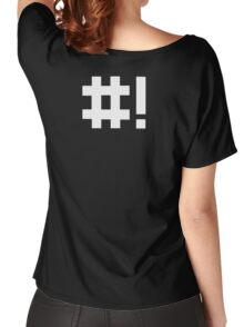 #! Women's Relaxed Fit T-Shirt