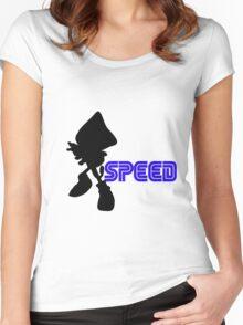 Speed Type: Espio Women's Fitted Scoop T-Shirt