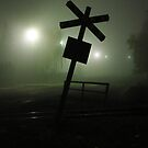 Railroad sign by Rasevic