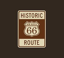 Historic Route 66 (New Mexico) Highway Sign Unisex T-Shirt