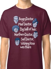 Angry Doctor Classic T-Shirt