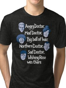 Angry Doctor Tri-blend T-Shirt