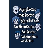 Angry Doctor Photographic Print