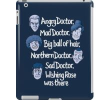 Angry Doctor iPad Case/Skin