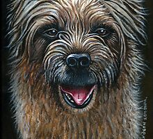 Fudge border terrier by james thomas richardson