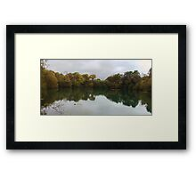 Thoughts & reflections Framed Print
