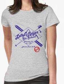 Lane Meyer Ski School Womens Fitted T-Shirt
