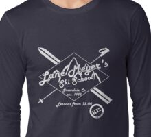 Lane Meyer Ski School Dark Long Sleeve T-Shirt