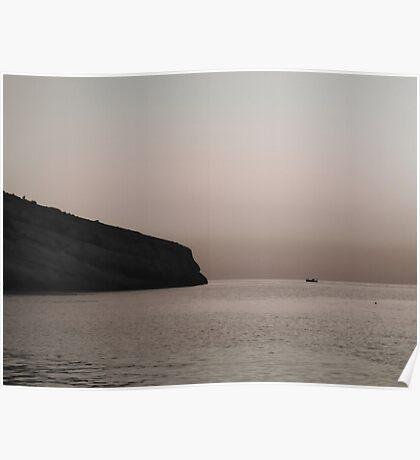Tranquil Sea Poster