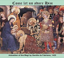 Gentile da Fabriano's Adoration of the Magi by Harveylee