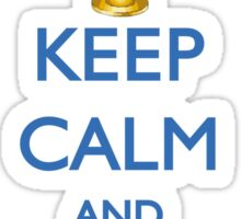 HANUKKAH - KEEP CALM AND LIGHT THE MENORAH Sticker
