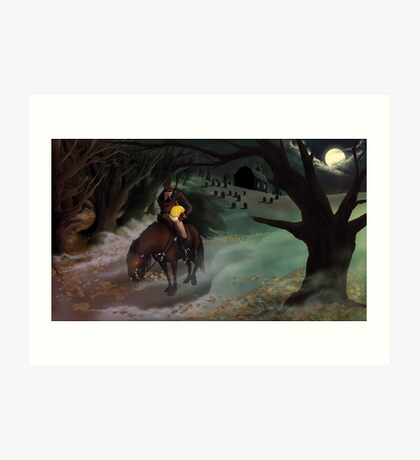 The Legend of Sleepy Hollow Art Print