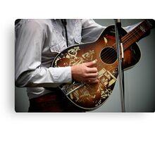 Singin' Cowboys Canvas Print