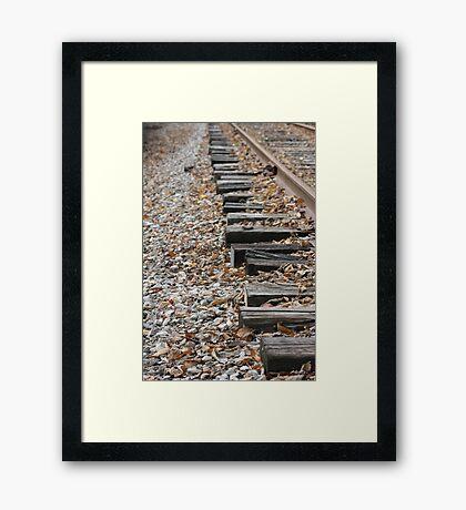 Side Rail Framed Print