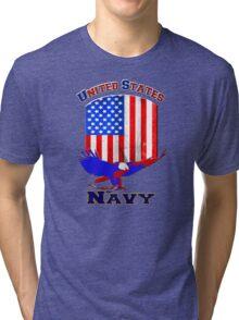 United States Navy Tri-blend T-Shirt