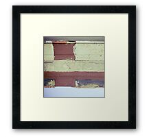 Layered-2 Framed Print